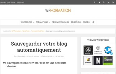 http://wpformation.com/sauvegarder-wordpress-backwpup/
