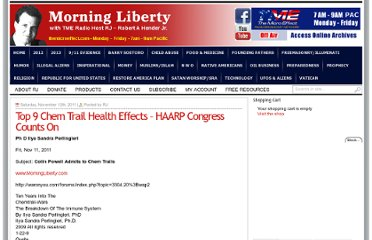 http://www.morningliberty.com/2011/11/12/top-9-chem-trail-health-effects-haarp-congress-counts-on/