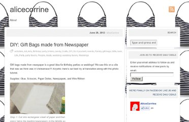 http://alicecorrine.com/2012/06/28/diy-gift-bags-made-from-newspaper/