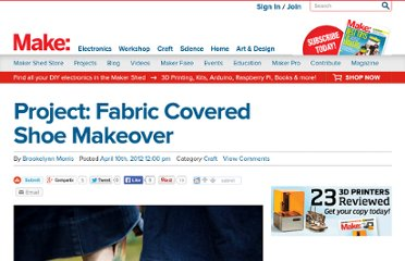 http://blog.makezine.com/craft/project_fabric_covered_shoe_ma/