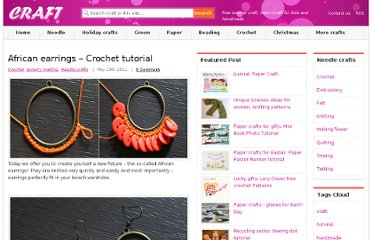 http://www.craft-craft.net/african-earrings-crochet-tutorial.html