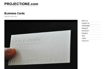 http://www.projectione.com/business-cards/
