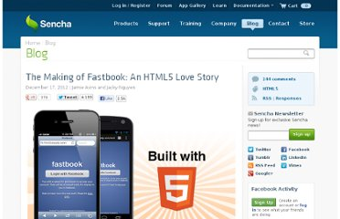 http://www.sencha.com/blog/the-making-of-fastbook-an-html5-love-story