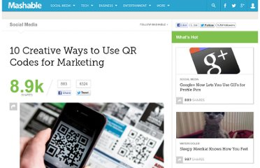 http://mashable.com/2012/01/13/qr-code-marketing/