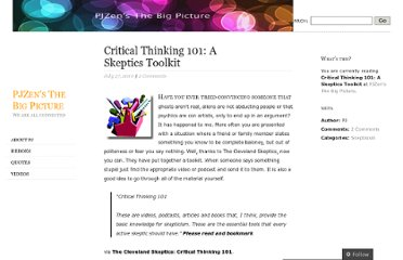 http://pjzen.wordpress.com/2010/07/27/critical-thinking-101-a-skeptics-toolkit/