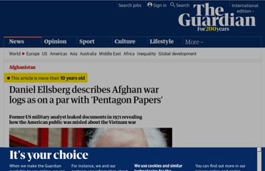 http://www.guardian.co.uk/world/2010/jul/27/daniel-ellsberg-war-logs-pentagon-papers