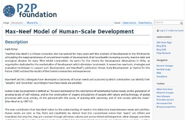 http://p2pfoundation.net/Max-Neef_Model_of_Human-Scale_Development