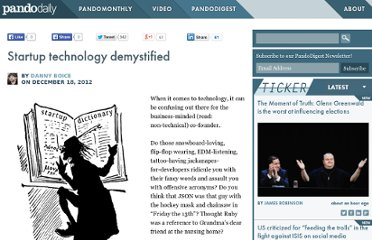 http://pandodaily.com/2012/12/18/startup-technology-demystified/