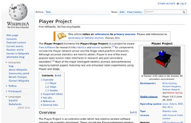 http://en.wikipedia.org/wiki/Player_Project