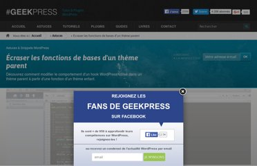 http://www.geekpress.fr/wordpress/astuce/ecraser-fonctions-theme-parent-1513/