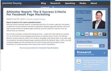 http://www.web-strategist.com/blog/2010/07/27/altimeter-report-the-8-success-criteria-for-facebook-page-marketing/