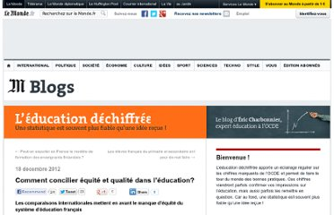 http://educationdechiffree.blog.lemonde.fr/2012/12/18/comment-concilier-equite-et-qualite-dans-leducation/