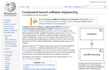 http://en.wikipedia.org/wiki/Component-based_software_engineering#Software_component