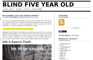 http://www.blindfiveyearold.com/reclaiming-lost-ios-search-traffic