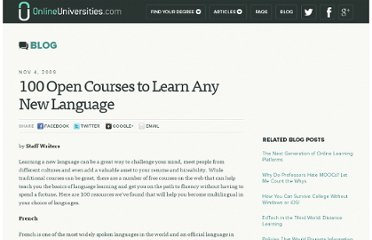 http://www.onlineuniversities.com/blog/2009/11/100-open-courses-to-learn-any-new-language/