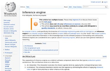 http://en.wikipedia.org/wiki/Inference_engine