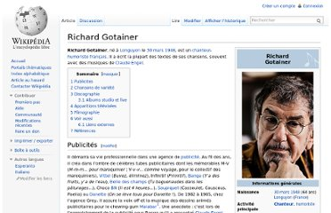 http://fr.wikipedia.org/wiki/Richard_Gotainer