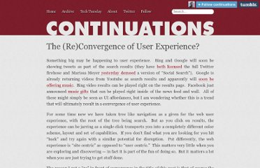 http://continuations.com/post/220043931/the-re-convergence-of-user-experience