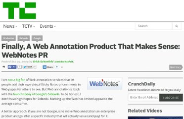 http://techcrunch.com/2009/09/23/finally-a-web-annotation-product-that-makes-sense-webnotes-pr/
