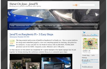 http://javafx.steveonjava.com/javafx-on-raspberry-pi-3-easy-steps/