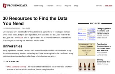 http://flowingdata.com/2009/10/01/30-resources-to-find-the-data-you-need/