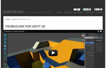 http://www.sixbysevenstudio.com/wp-flexible/project/probuilder-for-unity-3d/