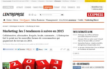 http://lentreprise.lexpress.fr/marketing-et-vente/marketing-les-5-tendances-a-suivre-en-2013_37536.html