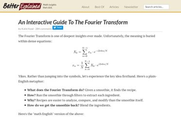 http://betterexplained.com/articles/an-interactive-guide-to-the-fourier-transform/