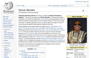 http://en.wikipedia.org/wiki/Stevie_Wonder