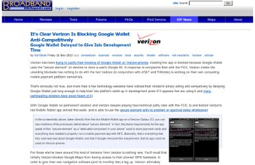 http://www.dslreports.com/shownews/Its-Clear-Verizon-Is-Blocking-Google-Wallet-AntiCompetitively-122513