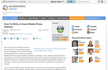 http://socialmediatoday.com/sarah-hartshorn/147284/how-write-social-media-press-release