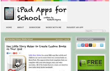 http://ipadapps4school.com/2012/12/21/use-little-story-maker-to-create-custom-books-on-your-ipad/