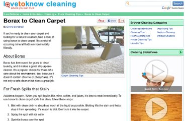 http://cleaning.lovetoknow.com/Borax_to_Clean_Carpet