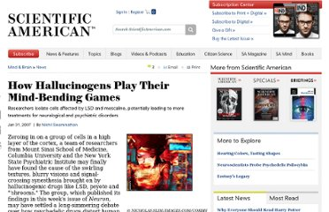 http://www.scientificamerican.com/article.cfm?id=how-hallucinogens-play-th