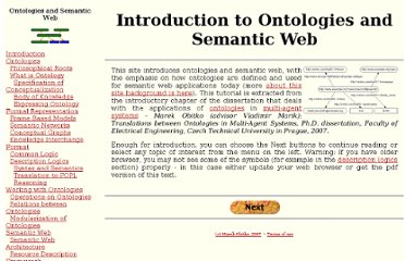 http://obitko.com/tutorials/ontologies-semantic-web/