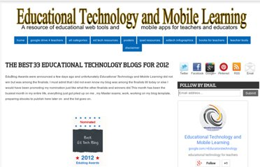http://www.educatorstechnology.com/2012/12/the-33-best-educational-technology.html