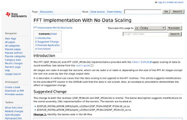 http://processors.wiki.ti.com/index.php?title=FFT_Implementation_With_No_Data_Scaling