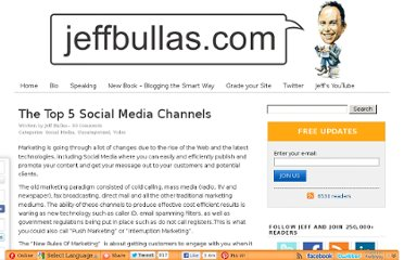 http://www.jeffbullas.com/2009/10/29/the-top-5-social-media-channels/