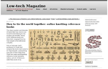 http://www.lowtechmagazine.com/2010/06/how-to-tie-the-world-together-online-knotting-reference-books.html