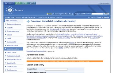 http://www.eurofound.europa.eu/areas/industrialrelations/dictionary/