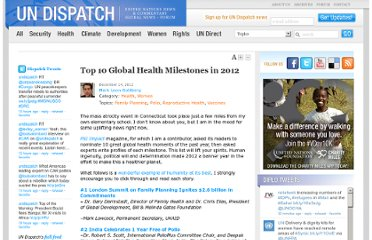 http://www.undispatch.com/top-10-global-health-milestones-in-2012