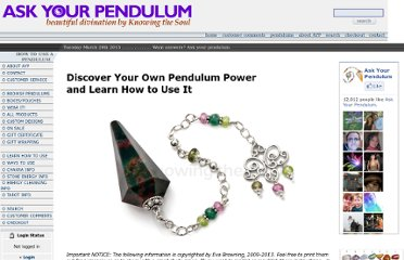 http://askyourpendulum.com/How_to.asp