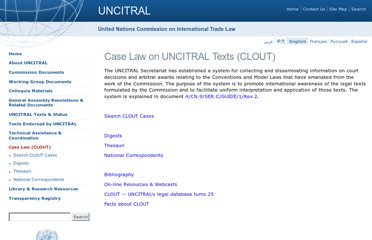 http://www.uncitral.org/uncitral/en/case_law.html