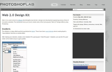 http://www.photoshoplab.com/web20-design-kit.html