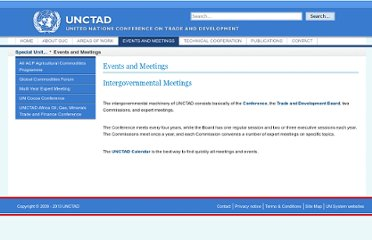 http://www.unctad.info/en/Special-Unit-on-Commodities/Events-and-Meetings/