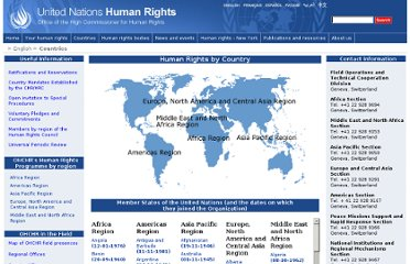 http://www.ohchr.org/EN/Countries/Pages/HumanRightsintheWorld.aspx