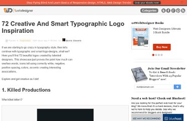 http://www.1stwebdesigner.com/inspiration/72-creative-and-smart-typographic-logo-inspiration/