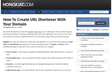 http://www.hongkiat.com/blog/how-to-create-url-shortener-with-your-domain/
