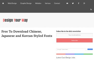 http://www.designresourcebox.com/free-to-download-chinese-japanese-and-korean-styled-fonts/