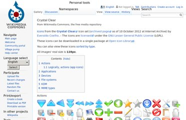 http://commons.wikimedia.org/wiki/Crystal_Clear